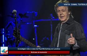 Roban casa de Paul McCartney en Londres