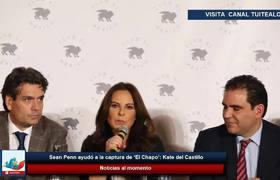 Sean Penn ayudó a la captura de 'El Chapo': Kate del Castillo