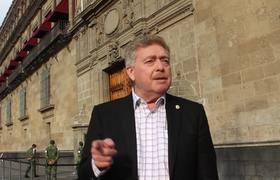 Gobernador en Palacio Nacional