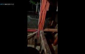 TSUNAMI IN INDONESIA PANIC BY VOLCANO KRAKATOA