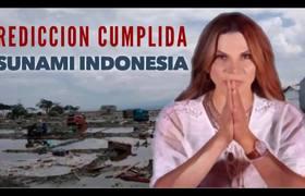 Prediccion Cumplida de Mhoni Vidente TSUNAMI EN INDONESIA