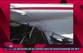 Las Imágenes de la avioneta en la que viajaba la Gobernadora de Puebla