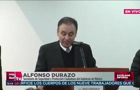 Conferencia sobre la muerte de funcionarios de #Puebla