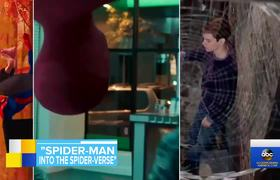 Jake Johnson and Shameik Moore dish on 'Spider-Man