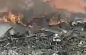 #VIDEO: Primeros momentos de la caída de la avioneta donde murió la gobernadora de Puebla