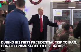 Trump's Visits Iraq