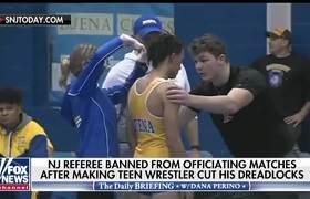 Referee banned after making wrestler cut dreadlocks
