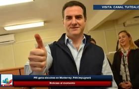 PRI gana elecciones en Monterrey, el Pan buscara impugnarPRI gana eleccio