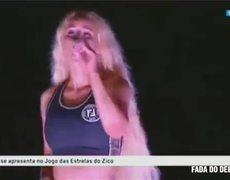 #VIRAL: Dancer convulsed in Iggy Azalea's show