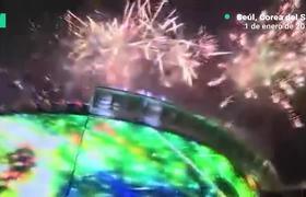 Con fuegos artificiales reciben al año nuevo 2019 en todo el mundo