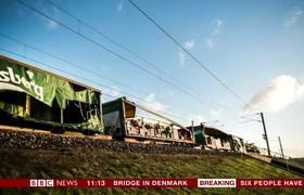Train accident on Danish bridge kills six