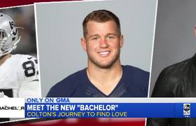 Bachelor Colton Underwood on his mission to find love