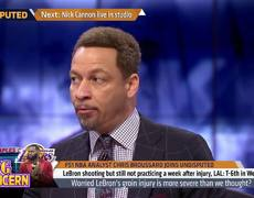 Chris Broussard evaluates the Lakers' young players performance without LeBron | NBA