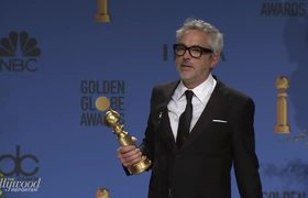 #GoldenGlobes2019: Winner Alfonso Cuarón Full Press Room Speech