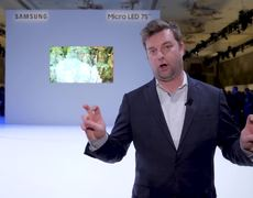 Samsung 75 Inch 4K MicroLED TV - CES 2019
