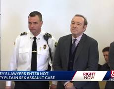 Kevin Spacey pleads not guilty in sex assault case