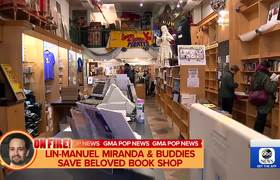Lin-Manuel Miranda saves beloved bookstore in New York City
