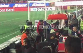 Terrible accidente en el Estadio Caliente, se cae aficionado de las gradas