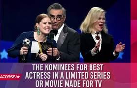 #2019CriticsChoiceAwards: Amy Adams & Patricia Arquette EMPATAN