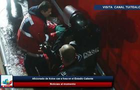 Aficionado de Xolos cae a fosa en el Estadio Caliente