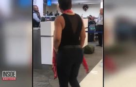 #VIDEO: Woman Escorted From Florida Airport Yelling 'You Rapist'