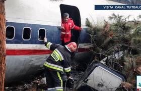 Se estrella avión en Teherán Irán Accidente deja 15 muertos