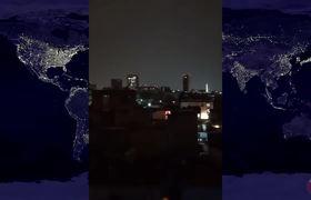 Usuarios reportan extrañas luces en el cielo de la CDMX