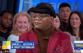 'Glass' star Samuel L. Jackson on the advice he'd give his younger self