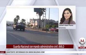 AMLO plantea dos mandos para Guardia Nacional, uno civil y otro militar