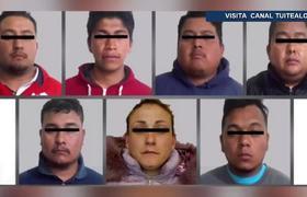 Caen 7 adultos y 2 menores con armas largas y droga en Tecámac