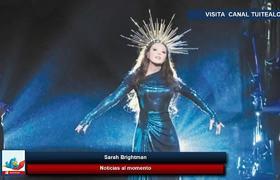 Sarah Brightman llega a Monterrey donde comenzará su Hymn Concert en México