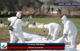 Aumenta a 79 muertos por explosión en toma clandestina en Tlalhuelilpan, #Hidalgo