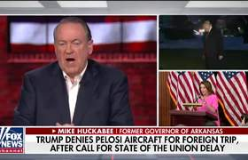 Trump showed he is going to come out swinging at Pelosi: Mike Huckabee