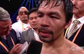 Manny Pacquiao vs. Broner Post-Fight Interviews