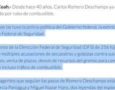 AMLO solicita Denuncias Vs el Líder Sindical Romero Deschamps