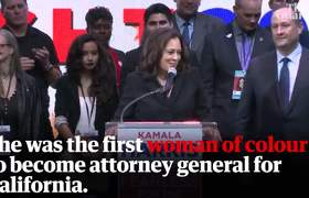 Kamala Harris entra a la carrera por la presidencia en 2020