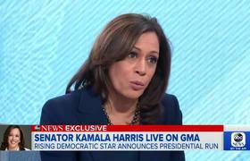 Kamala Harris se destapa como candidata a la presidencia en 2020