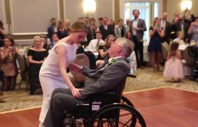 #VIRAL: Touching video shows bride dancing with her terminally ill father