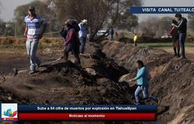 Sube a 94 cifra de muertos por explosión en #Tlahuelilpan, Hidago