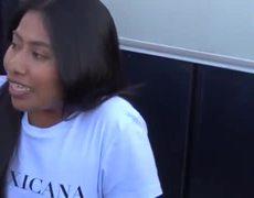 Entrevista a Yalitza Aparicio en Tijuana.
