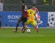 Ac Milan vs Barcelona 1 1 All Goals 22102013