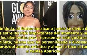 Indigna piñata de #YalitzaAparicio