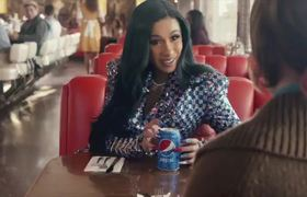 Cardi B Super Bowl Pepsi Commercial