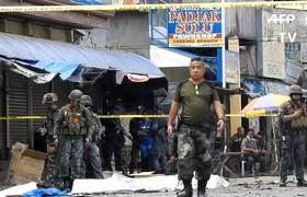 18 killed in twin bomb attack on Philippine church
