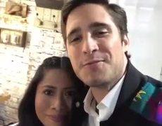 Diego Boneta junto a Yalitza Aparicio juntos en Instagram