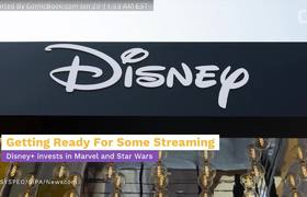 Disney+ Streaming Service Is Investing In Marvel and Star Wars Productions