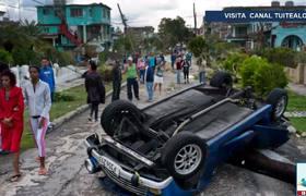 #Cuba eleva a 4 el número de muertos y 195 heridos por tornado