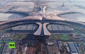 China builds the largest airport in the world and will open its doors this year