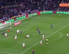 Lionel Messi Gol Barcelona Vs Sevilla