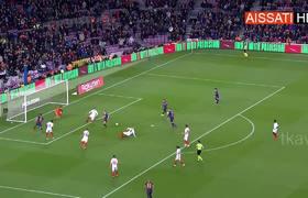 Lionel Messi Goal Barcelona Vs Sevilla